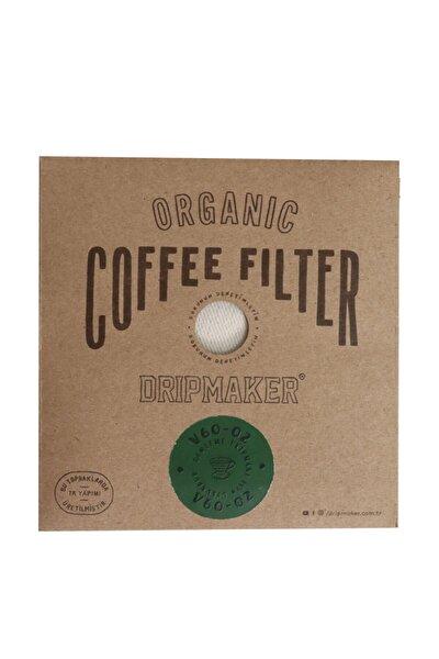 2 Adet Organik Kumaş Kahve Filtresi V60 02 Dripper