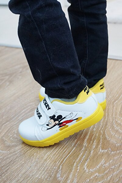Çocuk Cırtlı Spor Sneaker
