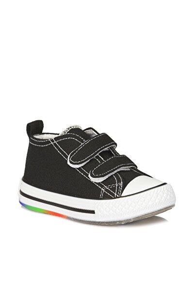 Pino Unisex Bebe Siyah/beyaz Spor Ayakkabı