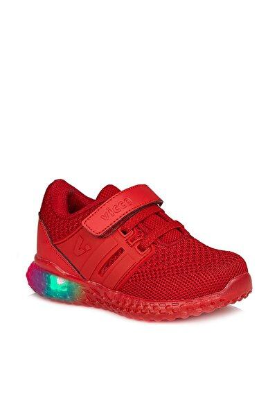 Flash Unisex Bebe Kırmızı Spor Ayakkabı