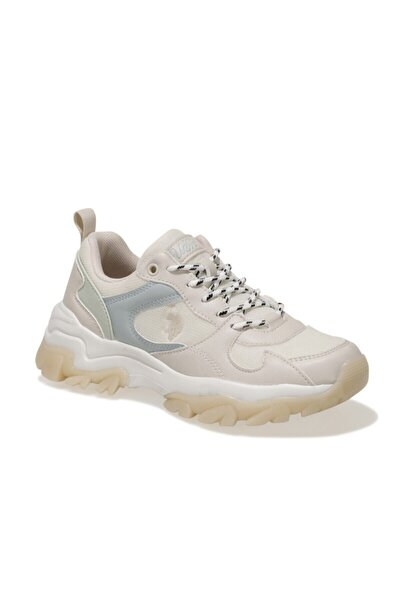 Tracky Summer 1fx Bej Kadın Fashion Sneaker