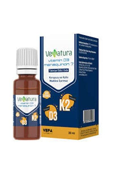 Vitamin D3+k2 Takviye Edici Gıda 20ml