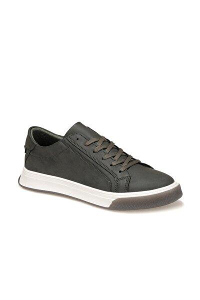9104 1FX Haki Erkek Kalın Tabanlı Sneaker 100909435