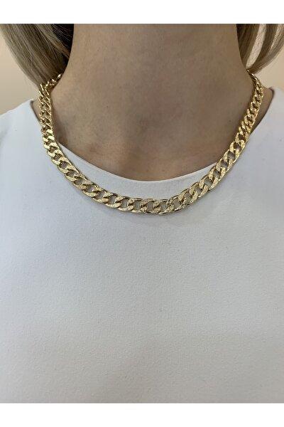 Kadın Gold Kaplama Zincir Kolye