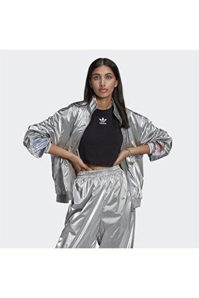 Adicolor Tricolor Metallic Japona Kadın Sweatshirt