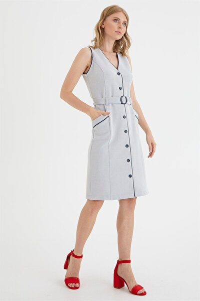 Biye Detaylı Elbise
