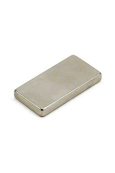 Mıknatıs 40 mm X 20 mm X 5 mm Köşeli Süper Güçlü Neodyum Mıknatıs
