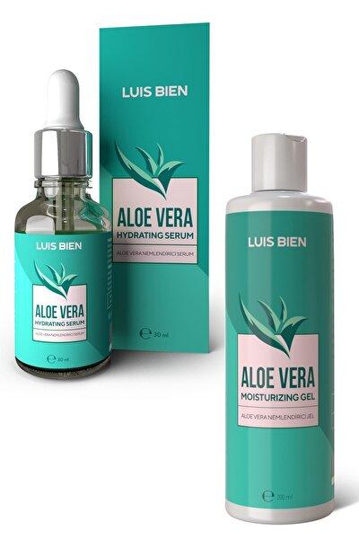 Aloe Vera Jel + Serum Bakım Seti