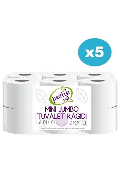 5 Koli Mini Jumbo Tuvalet Kağıdı 60 Rulo