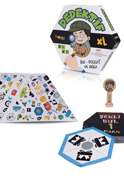 Dedektif - Beceri Eğitici Zeka Strateji Çocuk Ve Aile Oyunu - Lüks Kutu Oyunu