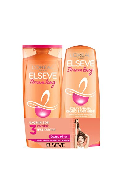Dream Long Şampuan 450 ml+ Saç Bakım Kremi 175 ml