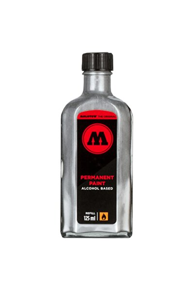 Molotow Alcohol Ink Refill - Alkol Mürekkep 125ml - Chrome