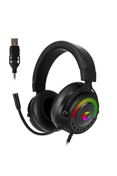 Bygame-x1 Siyah Usb 7.1 Surround Rgb Ledli Gaming Mikrofonlu Oyuncu Kulaklığı