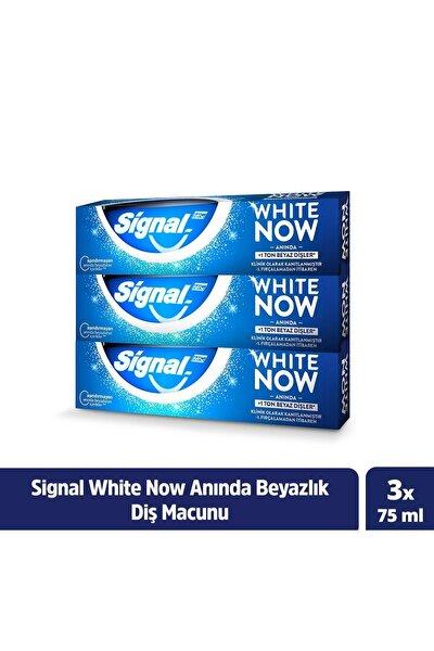 White Now Anında Beyazlık Sağlayan Diş Macunu 75 ml X3