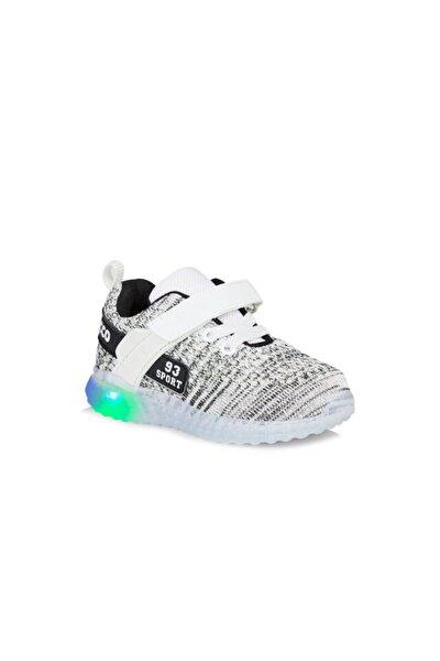 Alfa Unisex Çocuk Beyaz Spor Ayakkabı
