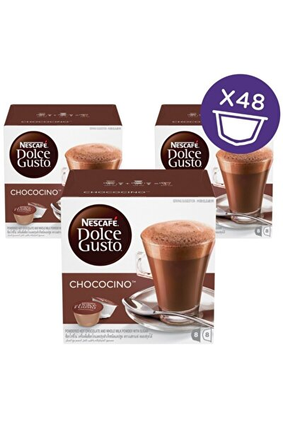 Dolce Gusto Chococino Sıcak Çikolata Kapsül Kahve 16 Adet X 3 Kutu