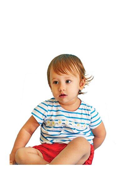 Kız Bebek Beyaz Baskılı 2'li Takım WK18SS5322