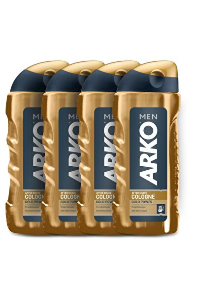 Men Gold Power Tıraş Kolonyası 4x250ml