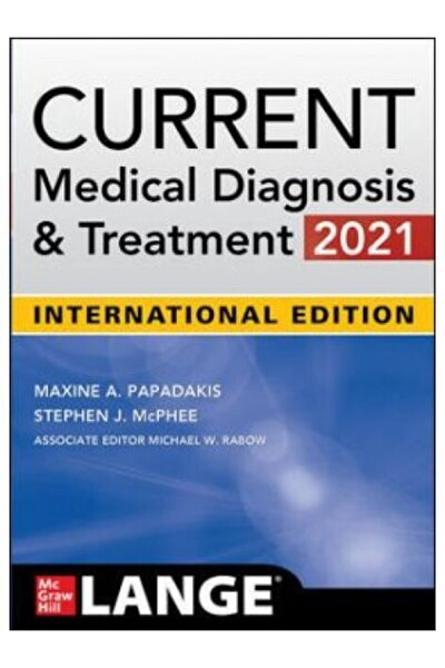 Current Medical Diagnosis And Treatment 2021 60th Edition, International Edition