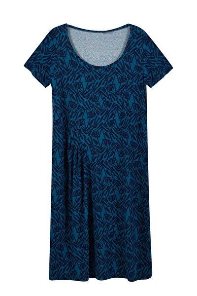 Kadın 42-52 Büyük Beden Elbise 3698