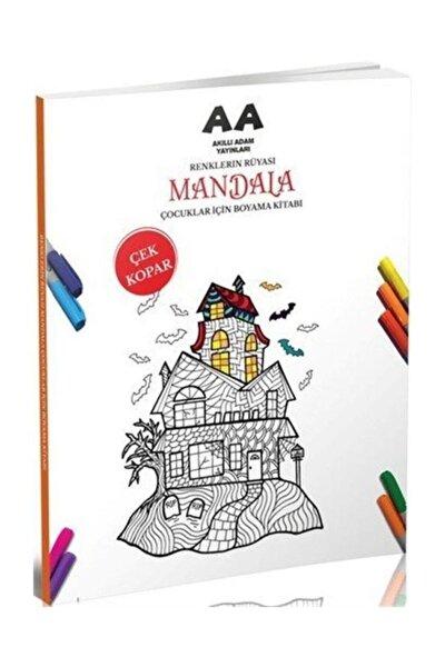 Mandala Renklerin Rüyası Çocuklar Için Boyama Kitabı