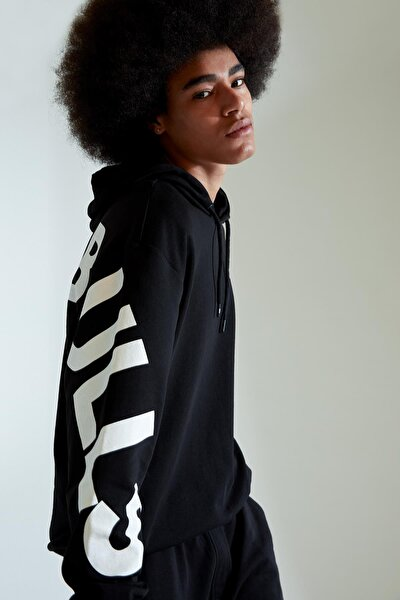 Nba Lisanslı Unisex Sırtı Baskılı Oversize Fit Sweatshirt
