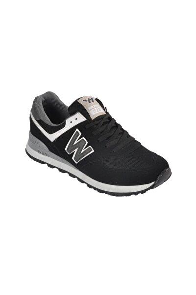 Erkek Siyah-Füme  Spor Ayakkabı 523