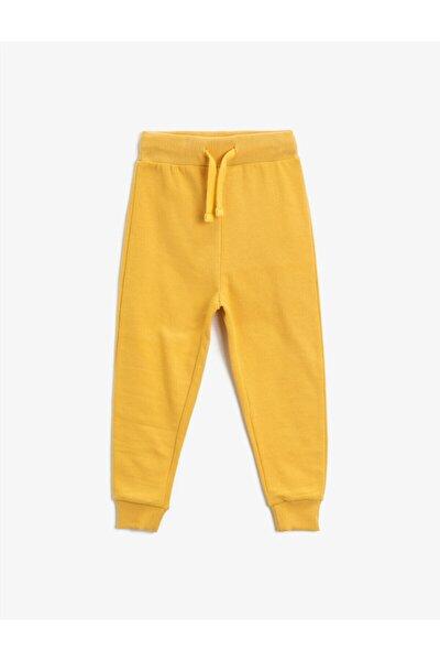 Erkek Çocuk Sarı Eşofman