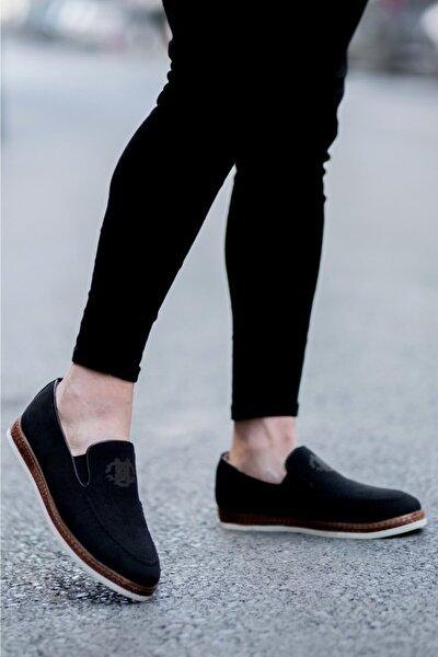 Erkek Siyah Süet Klasik Ayakkabı