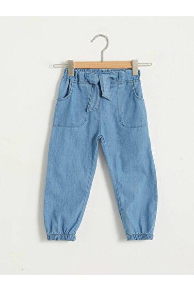 Kız Çocuk Mavi Cepli Jean