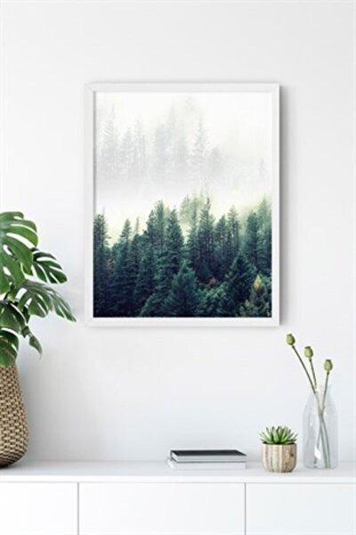 Nordic Forest Çerçevesiz 40x50 Cm Poster Tablo No:1