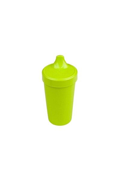 Unisex Bebek Yeşil Akıtmaz Alıştırma Bardağı