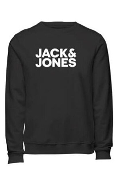 Erkek Jjecorp Logo Sweat Crew Neck Smu Sweat Shirt 20k-ıntg 12190578