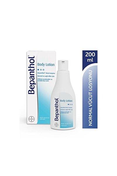 Body Lotion Nemlendirici Vücut Losyonu 200 Ml Normal & Yağlı Ciltler