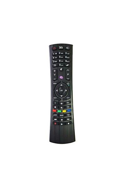 Vestel Lcd Led 3d Mor Tuşlu Tv Televizyon Kumandası
