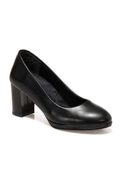 DW20022 Siyah Kadın Topuklu Ayakkabı 100572109