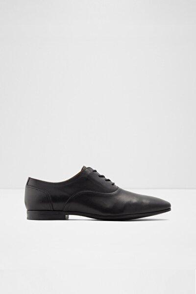Kedırevıel - Siyah Erkek Oxford & Loafer Ayakkabı