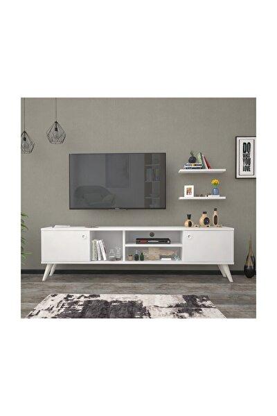 160 Cm Esin Beyaz Tv Ünitesi