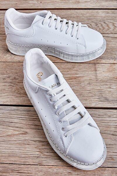 Beyaz Kadın Sneaker L05201723