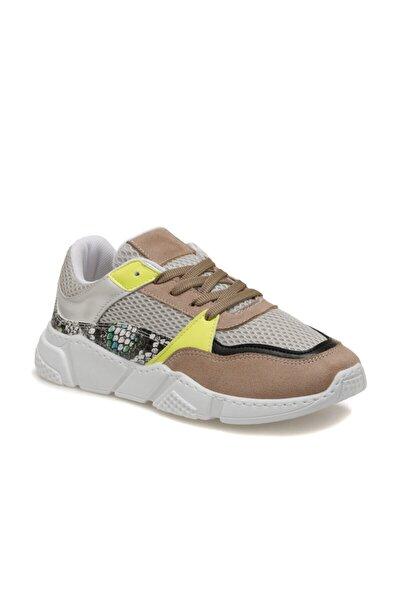 20SF-2000 Vizon Kadın Kalın Taban Sneaker Spor Ayakkabı 100530775