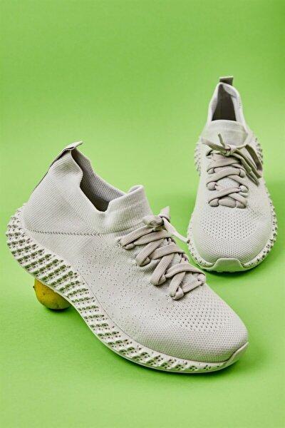 Gri Kadın Sneaker L0816048882