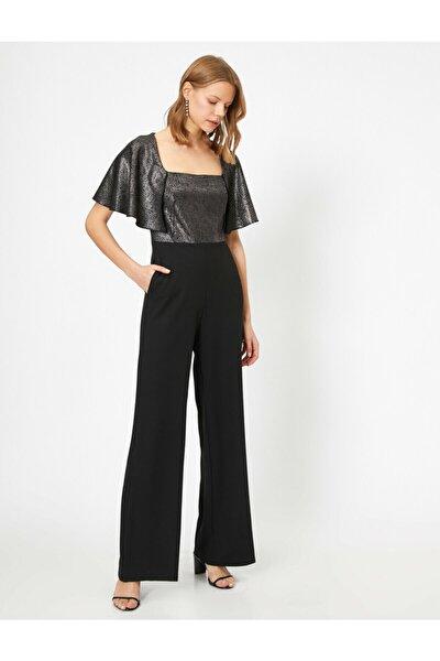 Kadın Cep Detayli Pantolon