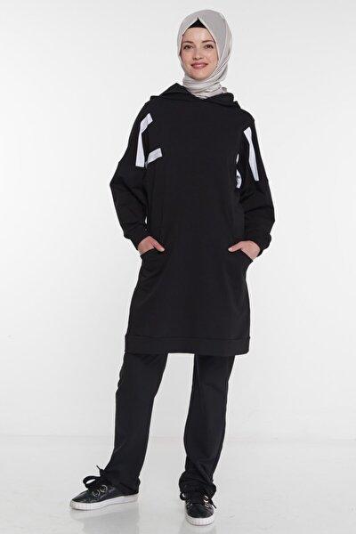 Eşofman Takım-siyah Mg1005-01