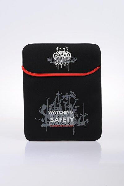 70651-3 Siyah Unısex Tablet Kılıfı