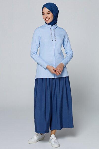 Gömlek 19ya3615 Mavi