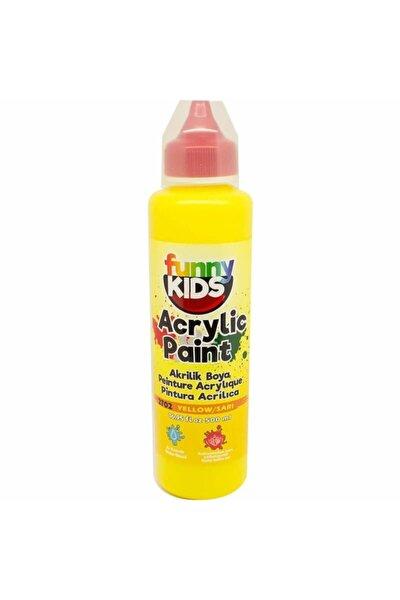 Funny Kids Akrilik Boya 500ml - 2702 Sarı