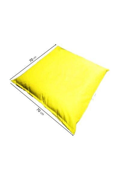 70x70 Beach Yer Minderi Sarı
