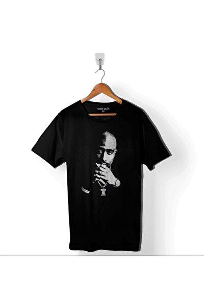 Tupac Shakur Rap 2pac Rep Musıc Hıp Hop Team Erkek Tişört