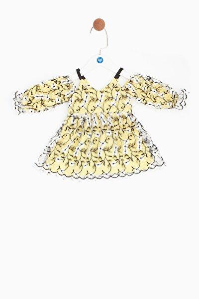 Kız Bebek Sarı Elbise