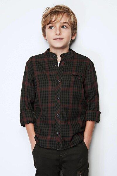 Erkek Çocuk Desenli Gömlek